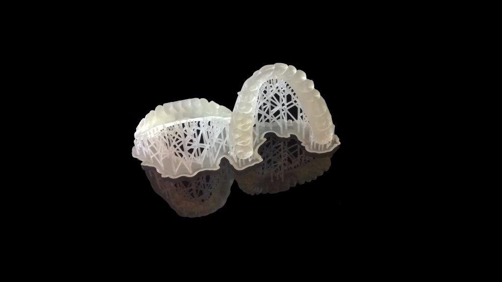 stampa 3d per realizzare modelli di arcate dentali