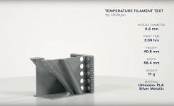 TIMELAPSE SETTIMANALE: TEST DEI FILAMENTI CON LA STAMPANTE 3D ULTIMAKER 2+