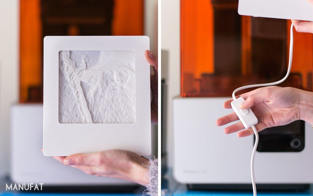 Manufat litofania stampa 3D