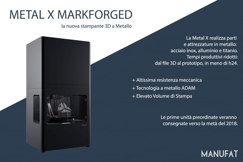 Manufat alla fiera fornitore offresi, METAL X MARKFORGED