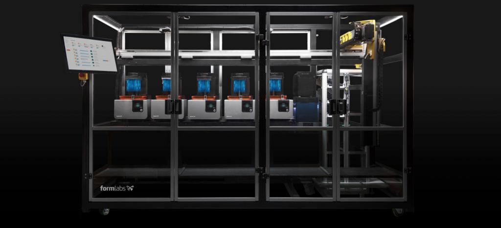 Lente realizzata con la stampa 3D SLA - Form Cell